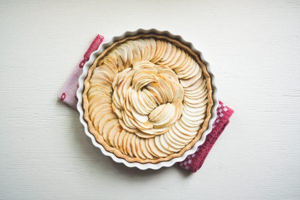 How To Make Ginger-Apple Tart