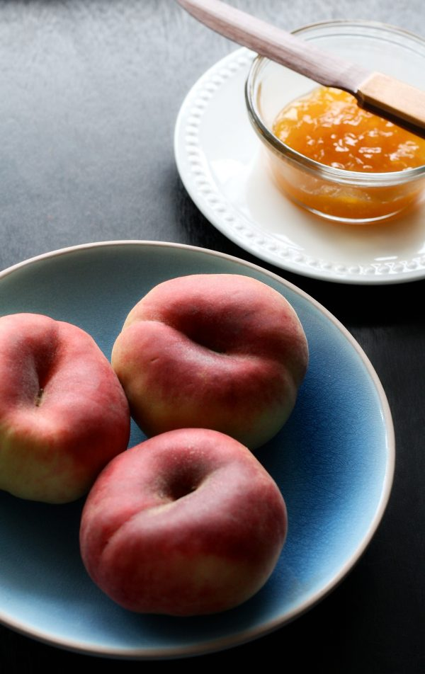 Gingered Peach Jam
